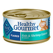 Blue Buffalo Healthy Gourmet Flaked Fish & Shrimp Entree Adult Cat Food