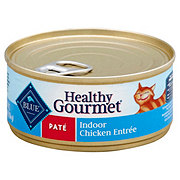 Blue Buffalo Healthy Gourmet Pate Indoor Chicken Entree Cat Food
