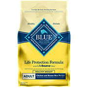 Blue Buffalo Healthy Weight Chicken & Brown Rice Dog Food, Adult