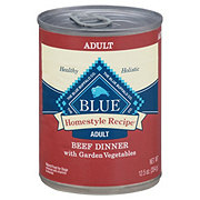 Blue Buffalo Homestyle Recipe Beef Dinner with Garden Vegetables Dog Food, Adult