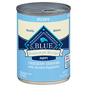 Blue Buffalo Homestyle Recipe Chicken Dinner with Garden Vegetables Dog Food, Puppy