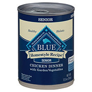 Blue Buffalo Homestyle Recipe Chicken Dinner with Garden Vegetables Dog Food, Senior