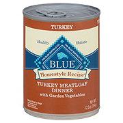 Blue Buffalo Homestyle Recipe Turkey Meatloaf Dinner with Garden Vegetables Wet Dog Food