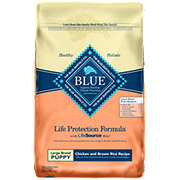 Blue Buffalo Life Protection Formula Chicken & Brown Rice Recipe Dog Food, Large Puppy
