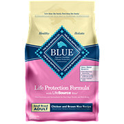 Blue Buffalo Life Protection Formula Chicken & Brown Rice Recipe Dog Food, Small Adult