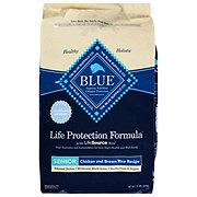Blue Buffalo Life Protection Formula Chicken & Brown Rice Recipe Dry SeniorDog Food