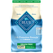 Blue Buffalo Life Protection Formula Grain Free Chicken Recipe Dog Food, Puppy