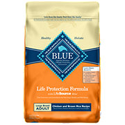 Blue Buffalo Life Protection Formula Large Breed Chicken & Brown Recipe Dry Dog Food