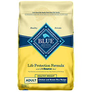 Blue Buffalo Life Protection Healthy Weight Chicken & Brown Rice Recipe Adult Dog Food