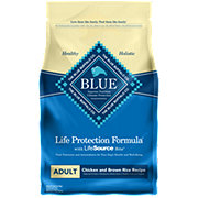 Blue Buffalo Lifetime Protection Formula Chicken and Brown Rice Recipe Dog Food, Adult