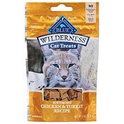 Blue Buffalo Wilderness Chicken & Turkey Recipe Soft-Moist Cat Treats