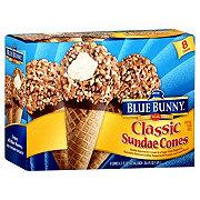 Blue Bunny Blue Ribbon Classics Vanilla Sundae Cones