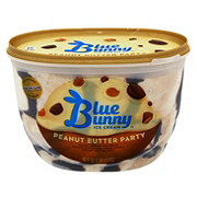 Blue Bunny Peanut Butter Party Ice Cream