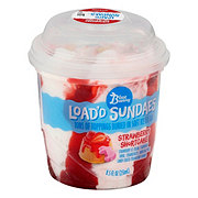 Blue Bunny Strawberry Shortcake Load'd Sundaes