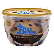 Blue Bunny Super Fudge Brownie Ice Cream
