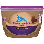 Blue Bunny Sweet Freedom, No Sugar Added, Chocolate Ice Cream
