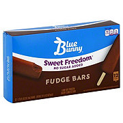 Blue Bunny Sweet Freedom No Sugar Added Fudge Lites