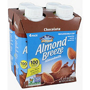 Blue Diamond Almond Breeze Chocolate Almondmilk 8 oz Bottles