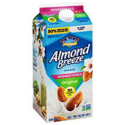 Blue Diamond Almond Breeze Original Unsweetened Almond Milk