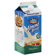 Blue Diamond Almond Breeze Reduced Sugar Original Almondmilk