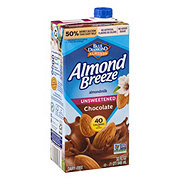 Blue Diamond Almond Breeze Unsweetened Chocolate Almond Milk