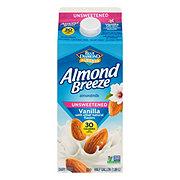 Blue Diamond Almond Breeze Vanilla Unsweetened Almond Milk