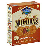Blue Diamond Almond Nut Thins Cheddar Cheese Cracker