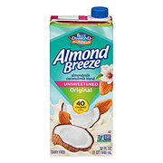 Blue Diamond Almonds Breeze Unsweetened Almond and Coconut  Milk Blend
