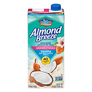 Blue Diamond Almonds Breeze Vanilla Unsweetened Almond and Coconut Milk Blend