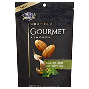 Blue Diamond Garlic Herb & Olive Oil Crafted Gourmet Almonds