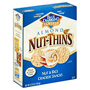 Blue Diamond Nut-Thins Almond Nut and Rice Cracker Snacks