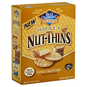 Blue Diamond Nut-Thins Honey Mustard Cracker Snacks