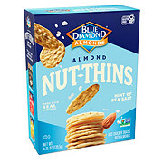 Blue Diamond Nut-Thins Nut and Rice Almond Hint of Sea Salt Cracker Snacks