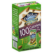 Blue Diamond Whole Natural Almonds 100 Calories Bags