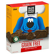 Blue Dog Bakery Grain Free Peanut Butter & Molasses Dog Treats