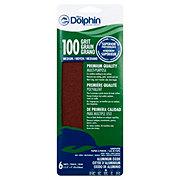 Blue Dolphin Aluminum Oxide Sandpaper Sheets 100 Grit