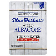 Blue Harbor Fish Co. Albacore In Water No Salt Added