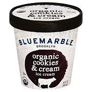 Blue Marble Organic Cookies and Cream Ice Cream