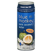 Blue Monkey 100% Natural Pure Coconut Water W/pulp