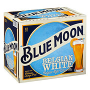 Blue Moon Belgian White Wheat Ale  Beer 12 oz  Bottles