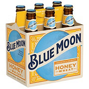 Blue Moon Summer Honey Wheat Seasonal  Beer 12 oz  Bottles