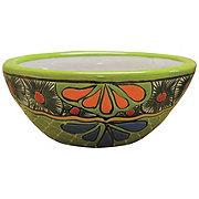 Blue Orange Pottery Fiesta Talavera Small Bowl