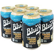Blue Sky Blue Sky Natural Soda Cream Soda 12 oz Cans