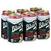 Blue Sky Cherry Vanilla Zero Sugar Soda 12 oz Cans