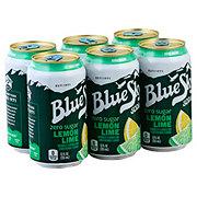 Blue Sky Lemon Lime Zero Sugar 12 oz Cans