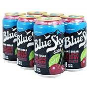 Blue Sky Natural Soda Black Cherry