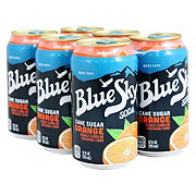 Blue Sky Natural Soda Orange Creme