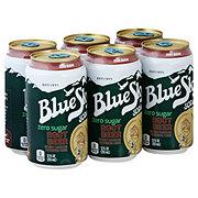 Blue Sky Root Beer Zero Sugar 12 oz Cans