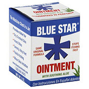 Blue Star Ointment With Soothing Aloe