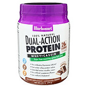 Bluebonnet 100% Dual Action Protein Chocolate